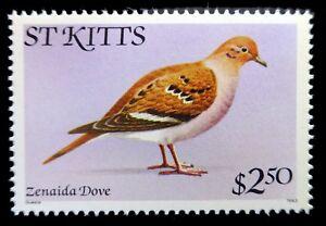 St KITTS 1983 - $2.50 Birds with SCARCE Imprint SG68b U/M NL699