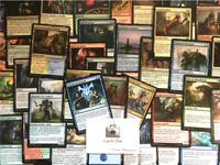 Magic Lot de 100 cartes communes françaises Aucun double + 5 Cartes Unco