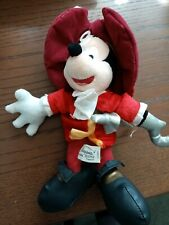 Mickey mouse teddy bear as captain hook
