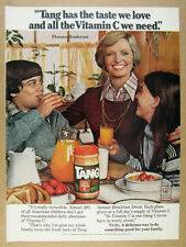 1978 florence henderson photo TANG Orange Drink Mix vintage print Ad