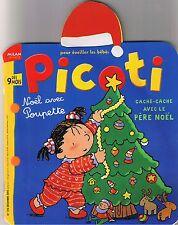 PICOTI  N° 194 * Pour éveiller les Bébés * Milan * Père Noël Cadeau Luge sapin