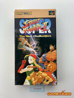 SUPER STREET FIGHTER II 2 Nintendo Super Famicom SFC JAPAN Ref:315340