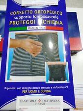 Cintura Elastica Action V busto steccato ortopedico  tipo gibaud corsetto !!!!