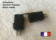 5 Interrupteurs Microswitch KW-7 à  longue palette (27mm). 7-34