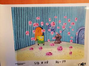 SPONGEBOB SQUAREPANTS ORIGINAL PRODUCTION CEL CELL ANIMATION ART