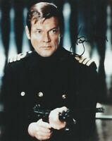Roger Moore 007~ CERTIFIED Signed autographed Vintage 8 X10 photo + COA
