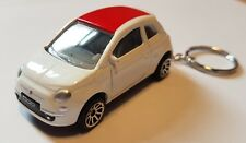 Majorette fiat 500 high detail diecast car keyring