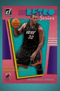 Panini Donruss Retro Series - SHAQUILLE O'NEAL (NBA Dunk Digital Card)