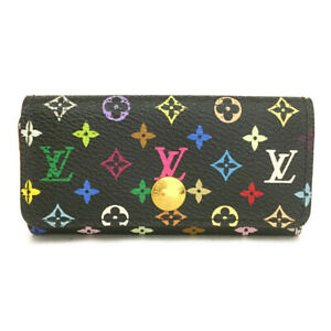 Louis Vuitton Monogram Multicolor Multicles 4 Ring Key Case /F1870