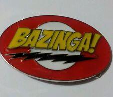 Big bang theory 'Bazinga' belt buckle