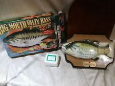 Big Mouth Billy Bass The singing sensation motion activated fish Gemmy 1998 NIB