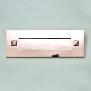TRADITIONAL PERIOD NICKEL LETTERBOX WITHOUT CLAPPER (*ATC)
