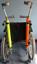 Crutch Pad / Holder High Vis Yellow Waterproof (MOBILITY STYLE)  SALE NOW ON WOW