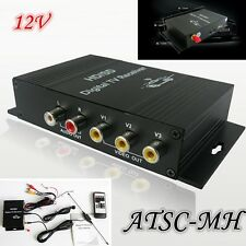 12V Car Mobile ATSC-MH Tuner Receiver Set Top Box with 4 Video For US HD/SD TV