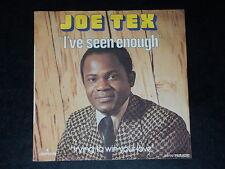 45 Giri Sp - Joe Tex - i' Ve Seen Enough - 1973
