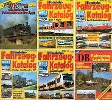 Eisenbahn Kurier-DB Deutsche Bundesbahn-Fahrzeug Katalog-IVK Schmalspurstrecken-