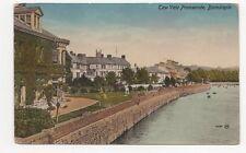 Taw Vale Promenade Barnstaple Vintage Postcard 128a