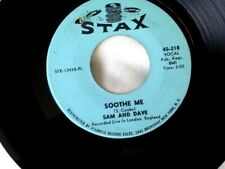 SAM & DAVE Soothe Me/  I Can't Stand Up For Falling Down STAX