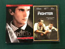 Christian Bale Dvd lot - American Psycho, The Fighter