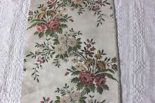Genuine 18thC Antique French Floral Brocaded Silk~ Home Dec, Design, Collectors