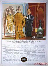 1977 CROFT ORIGINAL Cream Sherry Advert - 'Jeeves' (Gentlemans Clothes) Print AD