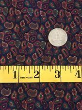 BTY~V.I.P.~Cranston Print Works Fabric~100%Cotton~Paisley
