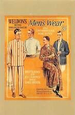 Weldon's Home Dressmaker Men increased informality after 1918 Nostalgia Reprint