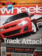 Wheels Mag 06 HSV VZ Clubsport BMW M6 M5 Mercedes CLS55 Porsche 911 FPV Drift 6