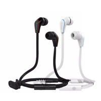 3.5mm Black Bass Stereo In-Ear Earphones Headphones Earbuds With Microphone Hot