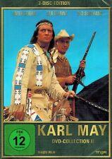 DVD-BOX NEU/OVP -  Karl May - DVD-Collection 2 - Unter Geiern / Der Ölprinz u.a.