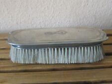 Silber Jugendstil-Bürste mit Monogramm 800 Silber