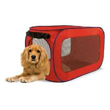 "SportPet Pop-Open Dog Soft Sided Travel Kennel, Small, 32""L (color may vary red/"