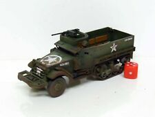 28mm Bolt Action Chain Of Command US M3A1 Halftrack - Painted & Weathered  (R1)