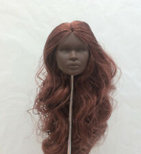 Fashion Royalty Color Infusion chestnut hair reroot Nadja Integrity doll Head