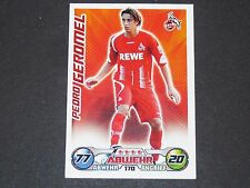 GEROMEL 1. FC KÖLN TOPPS MATCH ATTAX PANINI FOOTBALL BUNDESLIGA 2009-2010