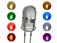 S254 SET 16 Stk. Flacker LEDs 5mm rot gelb grün blau weiß warmweiß orange pink