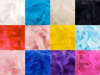 "Marabou Feathers 8g Mixed Bag of Feather Sizes 3""-8"" 12 Colours Free P&P"
