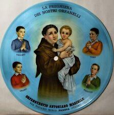 """Italian Compact 33 Picture Record La Preghiera Dei Nostri Orfanelli 7"""" Vinyl"""