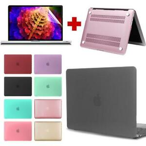 Case Cover+Screen Protector For Apple MacBook Pro 13 touch bar 2016 2018/M1 2020