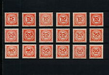 (YYAH 672) Austria 1920 TYPE COLOR MLH MH PORTO DUE