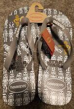 NEW Havaianas STAR WARS Sandals Flip Flops STORMTROOPER R2D2 C3PO Size 13