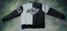 RARE Vintage Starter NHL Los Angeles Kings Men's Leather Jacket Size L.