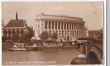 London; Unilever HOuse at Blackfriars Bridge RP PPC, 1938 PMK