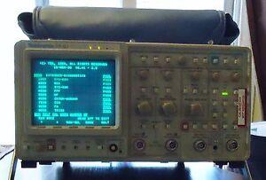 TEKTRONIX 2440 500 MS/s DIGITAL OSCILLOSCOPE OPTION: GPIB S/N B015268