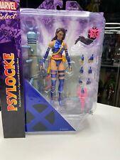 "Diamond Select Toys MARVEL SELECT Psylocke X-MEN Action Figure NIB 7"""