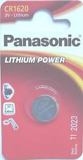 Panasonic Single Use CR1620 Batteries