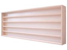 V140.5 Vitrine murale 140 x 49 x 8,5 cm rayonnage rangement étagère meuble bois