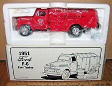 First Gear Phillips Petroleum Fuel Tanker Ford 1951 F-6 Truck 1/34  Toy  19-1034