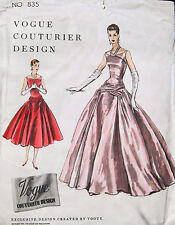 "1954 Vintage VOGUE Sewing Pattern B34"" DRESS (1706)"