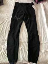 Lululemon Lab Tempo Tight Pant Size 4 Black Mesh